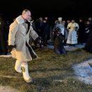 Путин рассмешил странным изображением на своих валенках