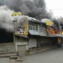 Настоящий ад: в Киргизии горел крупнейший рынок в стране