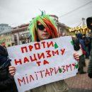 Киевляне устроили протесты против Национальных дружин