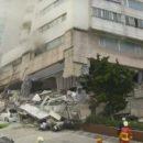 В сети опубликовали новые шокирующие кадры землетрясения на Тайвани