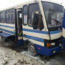 Во Львове горящий автобус врезался в маршрутку с людьми