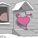 Елкин порадовал влюбленных потешной карикатурой ко Дню Святого Валентина