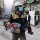 Жуткие кадры: Авиация Путина ударила по мирным жителям Сирии: 500 погибших