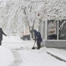 Снегопады вновь накроют Украину