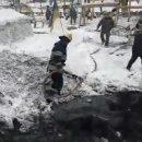 Тушение пожара в палаточном городке под Радой и сотни силовиков (видео)
