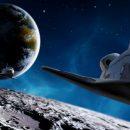 НЛО превратили спутник Земли в базу пришельцев