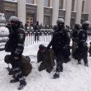 МВД: Задержанные на коленях — это не унижение
