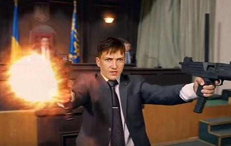 Пользователи смеются над фотожабами на «террористку» Надежду Савченко