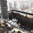 В Днепре полыхала многоэтажка (видео)