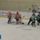 Российские хоккеистки устроили жесткую драку во время матча