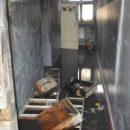 В Днепре загорелась школа. (видео)