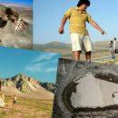 В России нашли огромный след великана