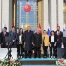 Международный конфуз: Эрдоган не поделил с Путиным девушек во время фотосессии