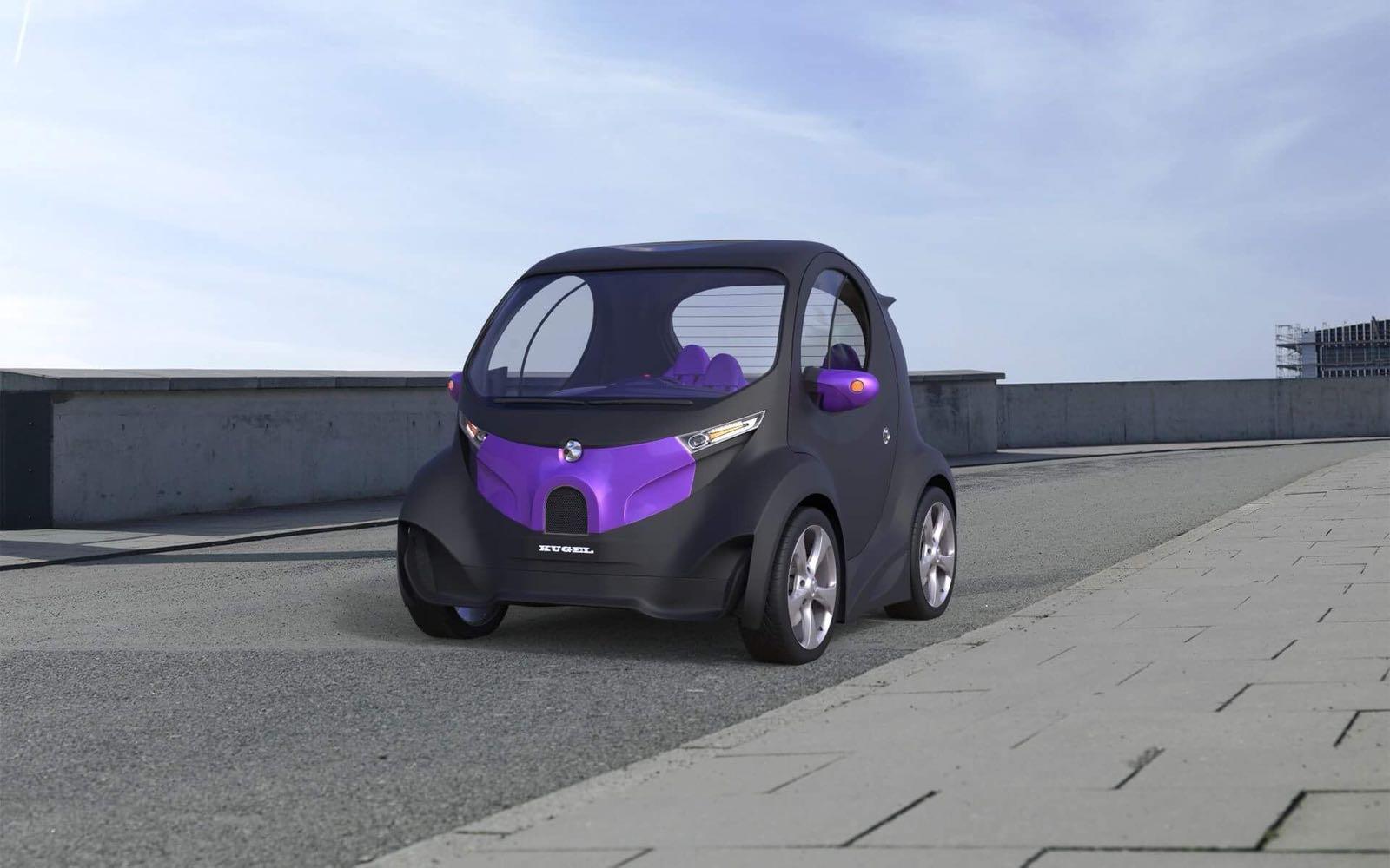Украинец представил новый доступный электромобиль