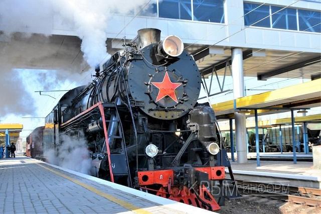 Сеть насмешили фото «поезда победы» в оккупированном Крыму