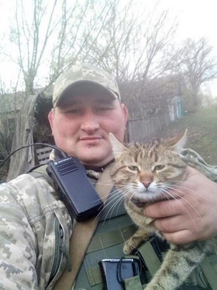 В сети показали фото необычных «боевых бандеровцев» в зоне АТО