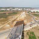 «Через 13 дней поедут первые авто» — оккупанты показали недостроенную дорогу к Керченскому мосту