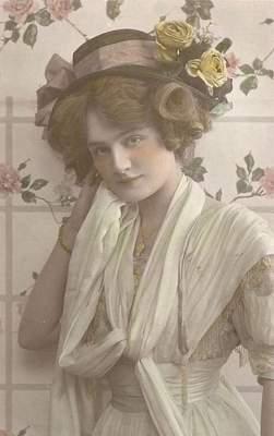 Страшная красота: красавицы в редких снимках начала прошлого века (фото)