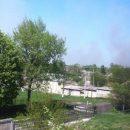 Ситуация в Балаклее: взрывов больше нет, продолжает тлеть трава