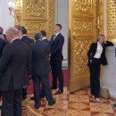 Поведение Поклонской на инаугурации Путина стало мемом дня