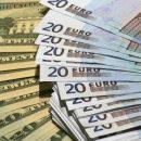 Доллар в обменниках подешевел, а евро — подорожал