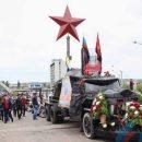 Путинский байкер приехал в Луганск с «катафалком»: в сети высмеяли фото