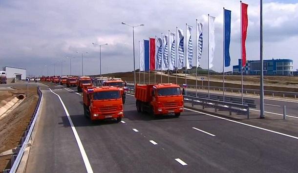 Путин устроил цирк с открытием моста в Крым