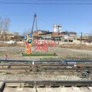 В России рекламу ЧМ-2018 установили на фоне разрухи: сеть насмешило фото