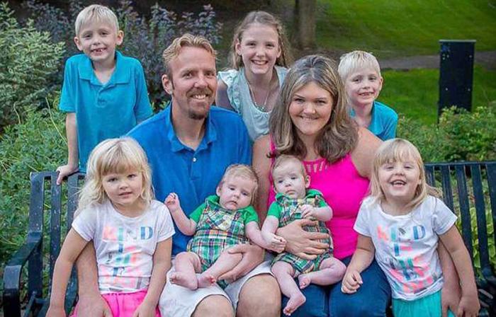 История семьи Эриксон: Семеро детей, которые выиграли в лотерею
