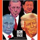 «Путин труп?» Немецкий журнал удивил изображением главы РФ