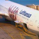 Во Франкфурте загорелся самолет Lufthansa, есть пострадавшие