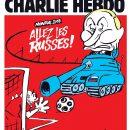 Charlie Hebdo высмеял Путина на обложке номера, посвященного ЧМ-2018