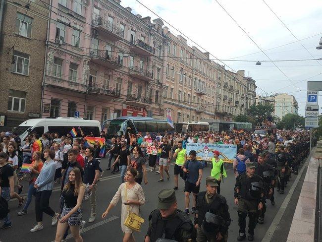 Марш равенства начался в Киеве: среди участников — нардепы ВР, дипломаты и политики ЕС