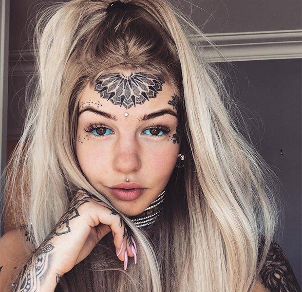 «Девушка-дракон» радикально изменила внешность, чтобы понравиться себе (Фото)