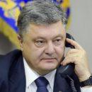 Порошенко обсудил с Генсеком ООН введение миротворцев в Донбасс