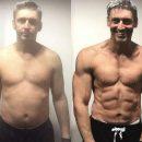 45-летний мужчина показал, как меняют тело три месяца в тренажерке