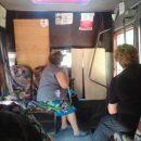 Интерьер херсонской маршрутки удивил пассажиров
