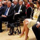 Курьез дня: Лавров засмотрелся на ножки Мелании Трамп