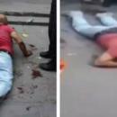 Мужчина прямо на улице кастрировал маньяка, который приставал к его дочери (видео)