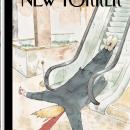 Падающего Трампа изобразили на новой карикатуре