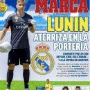 Лунин украсил обложку авторитетного испанского издания