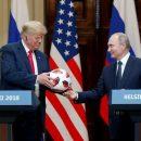 В подаренном Путиным Трампу мяче нашли чип – СМИ