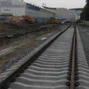 """У терминала D аэропорта """"Борисполь"""" уложили первые 250 метров железной дороги"""