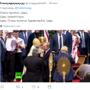 Путина высмеяли в Сети из-за выходки на Крестном ходе