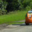 «Скотчмобиль»: Украинец удивил самодельным авто