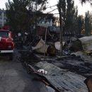 На известном украинском курорте ночью был масштабный пожар
