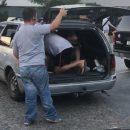 В Одессе поймали таксиста с пассажирами в багажнике