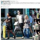 Похудевшая Анджелина Джоли снова появилась на публике