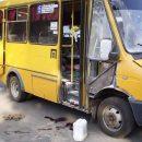 В маршрутке Кривого Рога взорвался огнетушитель, ранены два человека