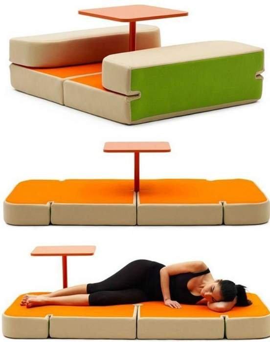 Необычная мебель, созданная специально для маленьких квартир (фото)